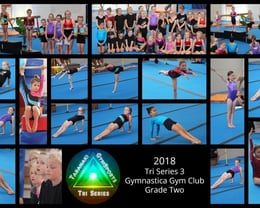 2018 Tri Series 3 Gymnastica Gym Club Grade Two