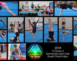 2018 Tri Series 3 Gymnastica Gym Club Grade Three 6-8yrs