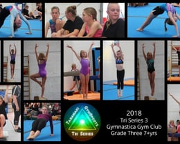 2018 Tri Series 3 Gymnastica Gym Club Grade Three 7+yrs
