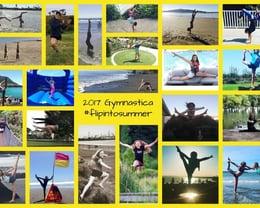 2017 Gymnastica #flipintosummer